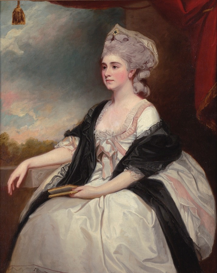 1782 Mrs Mary Lutwyche, née Thomas by George Romney (private collection) From Philip Mould Historical Portraits