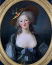 1782 Princess Elisabeth of France by Elisabeth-Louise Vigée-Le Brun (Tokyo Fuji Art Museum) From fujibi.or.jp-en-our-collection-profile-of-works.html?work id=3625 size fixed at 41.28 cm high at 75 pixels:cm