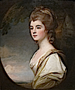 1782 Elizabeth, Duchess-Countess of Sutherland by George Romney, Cincinnati Art Museum - Cincinnati, Ohio USA)