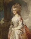 1783-1784 Anne, Duchess of Cumberland by Thomas Gainsborough (Royal Collection)