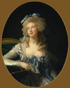 1783 Catherine Noele Grand (née Worlée), Later Madame Talleyrand-Périgord, Princesse de Bénévent by Élisabeth Louise Vigée Lebrun (Metropolitan Museum of Art - New York City, New York, USA)
