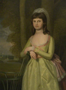 1783 Miss Sophia Isham (d.1851), Wife of Thomas Palmer by Ralph Earl (Lamport Hall - Lamport, Northamptonshire, UK) From artuk.org