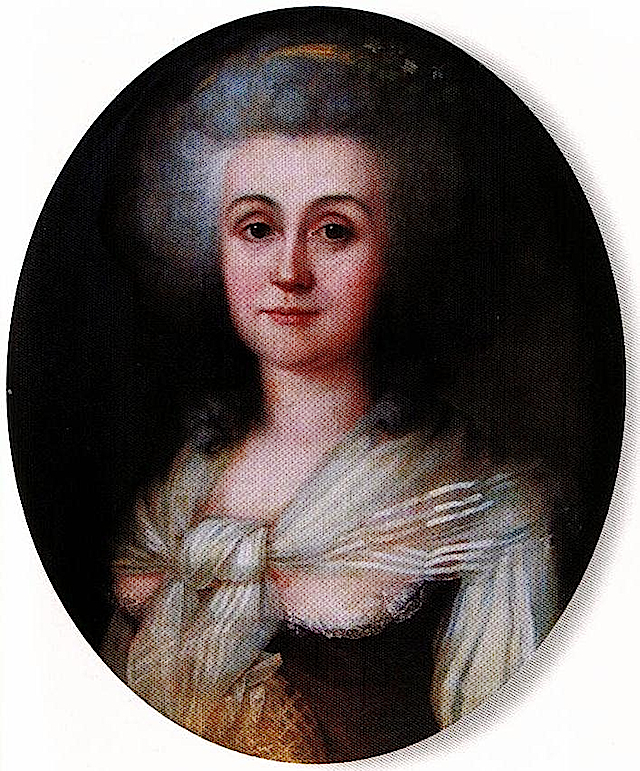 1783 Comtesse de Provence by Wertmuller posted to Le Boudoir de Marie-Antoinette Marie-Josephe de Savoie, Comtesse de Provence thread, page 1 by Lakme 3Jun09 (location unknown to gogm)