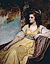 1783 Hon. Charlotte Clive by George Romney (Powis Castle - Welshpool, Powys UK)