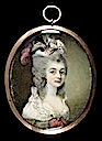 1783 Mary, Marchioness of Buckingham by Horace Hone (Fitzwilliam Museum - Cambridge, Cambridgeshire UK)
