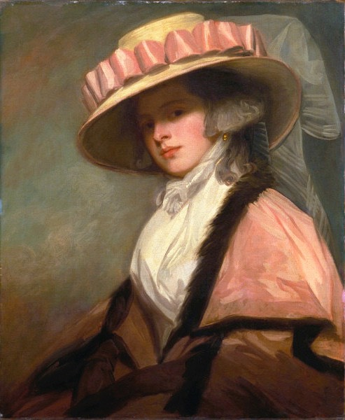 1784-1785 Catherine (Brouncker) Adye, later Catherine Willett by George Romney (Huntington Library, Art Collections, and Botanical Gardens - San Marino, California, USA) From the-athenaeum