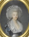 1785 Comtesse d'Artois by Joseph Boze (auctioned by Sotheby's) UPGRADE From history-of-fashion.tumblr.com