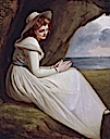 1785-1786 Emma Hart, later Lady Hamilton as Ariadne by George Romney (Maritime Museum - Greenwich, London UK)