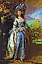 1785-1786 Sophia Charlotte, Lady Sheffield by Thomas Gainsborough (National Trust Waddesdon Manor - Aylesbury, Buckinghamshire UK)