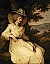 1785 Elizabeth Foster by Angelica Kauffman (Ickworth House - Bury St. Edmunds, Suffolk UK)