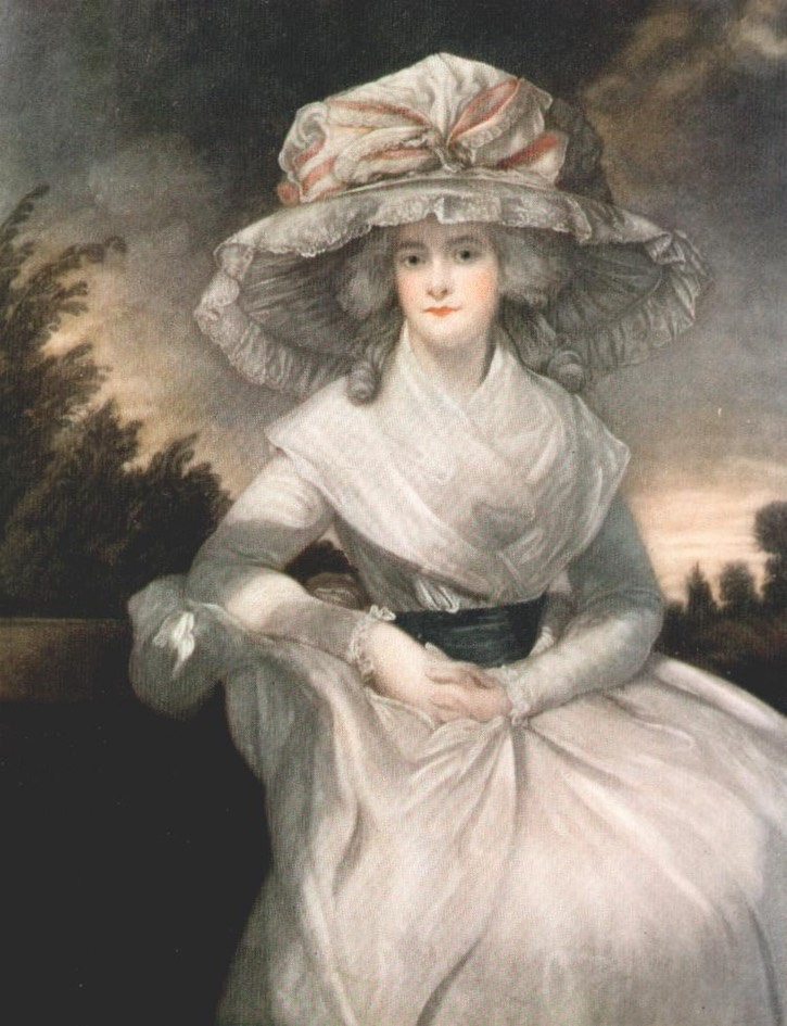 1786-1787 Mrs. Drummond Smith, née Cunliffe by Sir Joshua Reynolds (Castle Ashby House - Castle Ashby, Northamptonshire, UK) From shakespeares-sonnets.com/Archive/Reynolds1