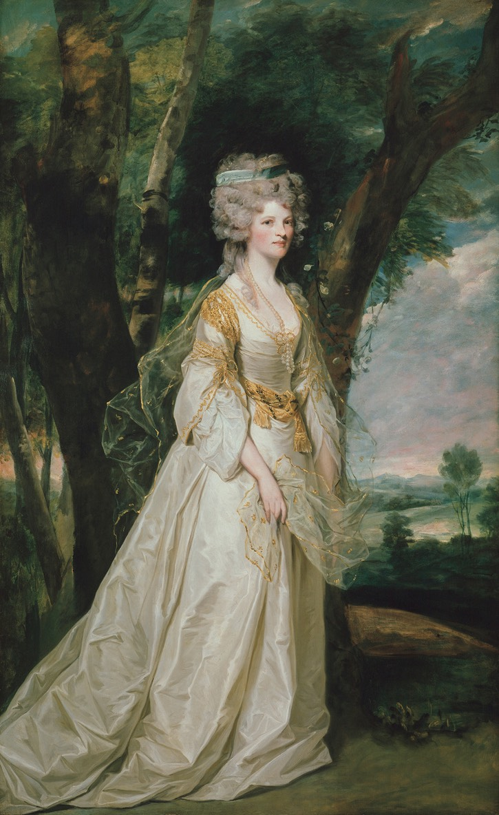 1786 Lady Sunderlin by Sir Joshua Reynolds (Staatliche Museen - Berlin, Germany) Google Art Project via Wm despot UPGRADE