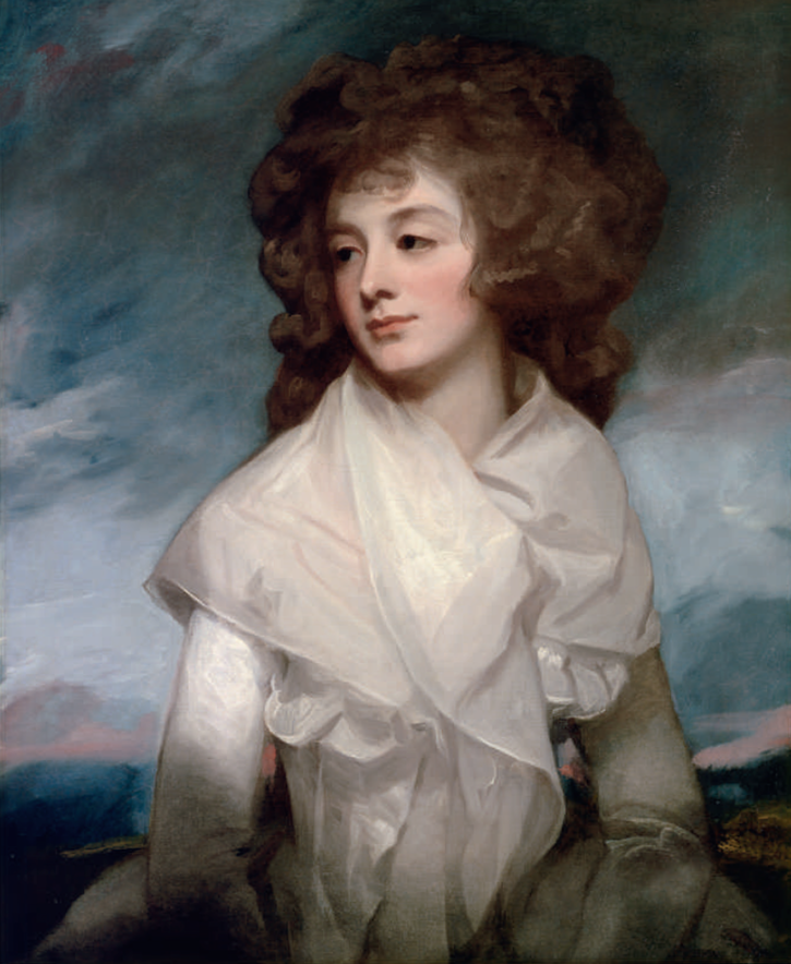 1787-1791 Lady Elizabeth Morshead by George Romney (auctioned by Lowell Lisbon)