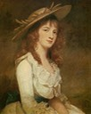 1787 Mary MacDonell Chichester, Miss Constable by George Romney (Museu Calouste Gulbenkian - Lisboa Portugal)