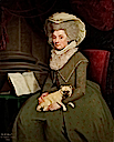 1787 Lady Charlotte Finch (1725–1813), née Fermor Governess to the Children of King George III by William Hopkins (UK Government Art Collection)