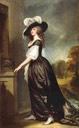 1788-1792 Charlotte, Lady Milnes by George Romney (The Frick Collection, New York City)