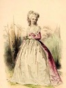 1788 Color print of Princess Lamballe From pinterest.de:hernandez8534:princess-dé-lambella: