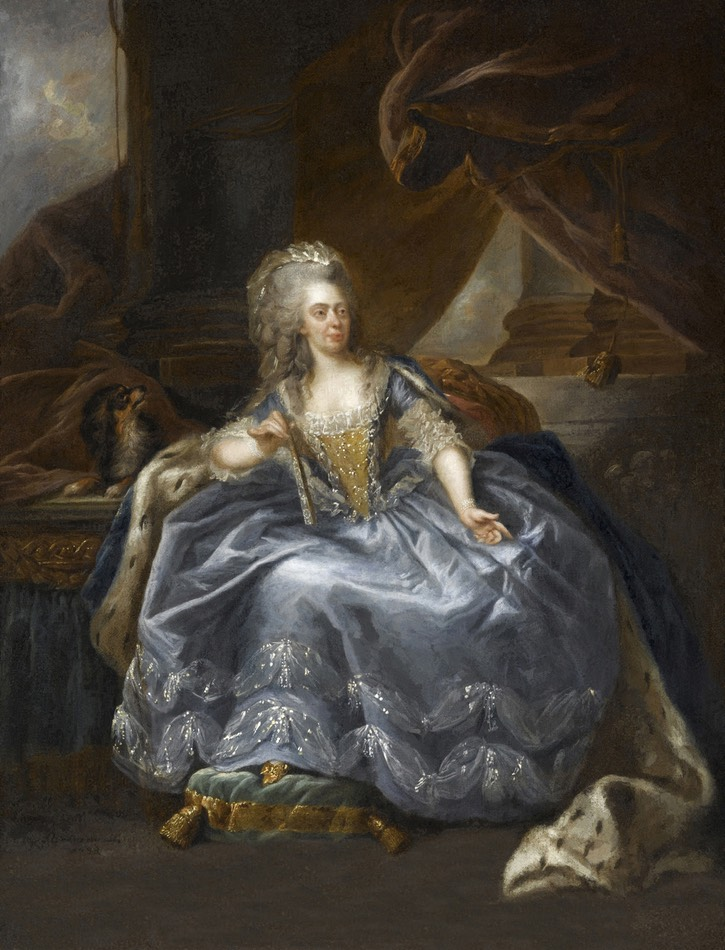 1788 Marie Adélaïde de France, fille de Louis XV, dite Madame Adélaïde by Johann Ernst Jules Heinsius (Châteaux de Versailles et de Trianon - Versailles, Île-de-France, France) From the lost gallery's photostream on flickr