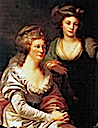 1788-1790 Józefina Amalia Potocka and her daughter Pelagia by Johann-Baptist Lampi the Elder (location unknown to gogm)