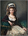 1789 Madame d'Aguesseau de Fresnes in her Turkish harem garb, by Elisabeth Vigée Lebrun (National Gallery of Art - Washington, DC USA)