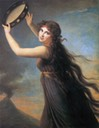 1790-1792 Emma Hart, later Lady Hamilton, as Bacchante by Élisabeth Louise Vigée-Lebrun (Lady Lever Art Gallery - Port Sunlight Village, Wirral UK)