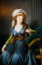 1790 Countess Ekaterina Vassilievna Skavronskaya, née Engelhardt in Naples by Élisabeth Louise Vigée-Lebrun (Musée Jacquemart-André - Paris France) Photo - Jebulon