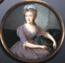 ca. 1790 Maria Carolina, Queen of Naples by Nicolas-François Dun (R. D. Brewster Collection of Portrait Miniatures)