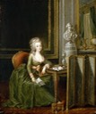 ca. 1790 Marie Therese, Comtesse d'Artois by Alexander Kucharsky (location unknown to gogm)