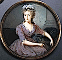 1790ca. Maria Carolina, Queen of Naples by Nicolas-François Dun (R. D. Brewster Collection of Portrait Miniatures)