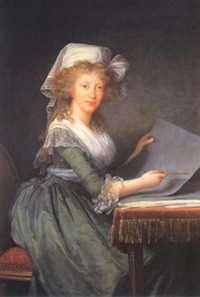 1790s Maria Luisa Amelie, later Grand Duchesse of Tuscany by Louise Élisabeth Vigée Lebrun (Museo di Capodimonte - Napoli, Campania, Italy)