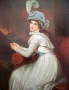 1791 Lady Emma Hamilton as Ambassadress by George Romney (Blanton Museum of Art, University of Texas at Austin - Austin, Texas)