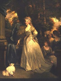 1791 Princess Frederica Charlotte of Prussia, Duchess of York by John Hoppner (private collection)