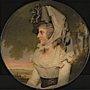 1792 Lady Delaval (?) by John Downman (Tate Collection - London UK)
