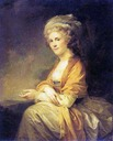 1793 Countess Catherine Stroganova by Johann Baptist Lampi the Eleder (State Russian Museum - St. Petersburg Russia)