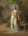 1794 Luise von Brandenburg-Schwedt by Johann Friedrich August Tischbein (private collection)