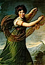 1794 Princess Sapiena, née Potocka, or Dancing with Shawl by Élisabeth Lousie Vigée Lebrun (Zamek Królewski w Warszawie - Warsawa Poland)