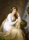 1796 Countess Anna Ivanovna Tolstoy, nee Princess Bariatinsky by Elisabeth Louise Vigee-Lebrun (sold by Stair Sainty Galleries)