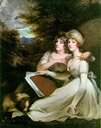 1795 Frankland sisters by John Hoppner (National Gallery of Art - Washington, DC USA)