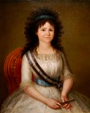 1795 Spanish Infanta by Agustin Esteve (The Hispanic Society of America - New York City, New York USA)
