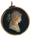 1796 Marie-Thérèse-Charlotte by Jacques Joseph de Gault (Metropolitan Museum of Art- New York City, New York, USA) From the museum's Web site