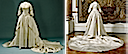 1797 Wedding dress of Queen Frederica (Livrustkammaren, Royal Palace - Stockholm Sweden)