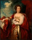 ca. 1797 Elizabeth, Countess of Effingham by Benjamin West (National Gallery of Art, Washington, DC)