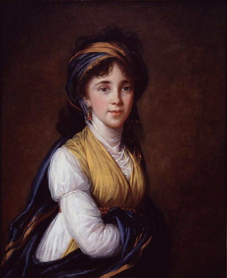 1798 Princess Anne Grigorieva Belosselsky Belozersky by Élisabeth Louise Vigée-Lebrun (National Museum of Women in the Arts - Washington, DC, USA) From