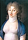 1799 Louise of Prussia by Nikolaus Lauer (Deutsches Historisches Museum - Berlin, Germany)
