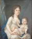 1800 Countess Colloredo with son by Joseph Kaltner (Boris Wilnitsky)