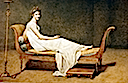 1800 Madame Recamier by Jacques-Louis David (Louvre)