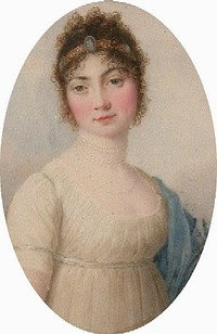 ca. 1800 Therese von Thurn und Taxis by Carlo Restallino (location unknown to gogm)