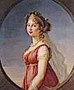 1801 Luise Auguste Wilhelmine Amalie Herzogin zu Mecklenburg by Élisabeth Louise Vigée-Lebrun (location unknown to gogm)
