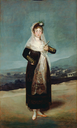 1804 Marquesa de Santiago by Francisco José de Goya y Lucientes (Getty Museum - Los Angeles, California USA)