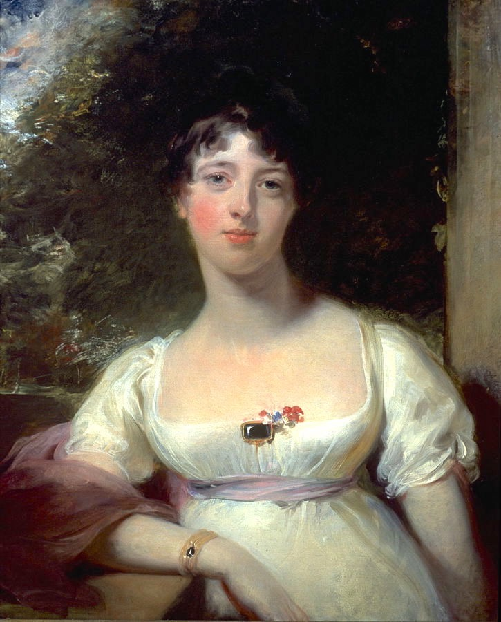 1805 Anna Maria Dashwood, later Marchioness of Ely by Sir Thomas Lawrence (Fine Arts Museums of San Francisco - specific location unknown to gogm) From FAMSF site